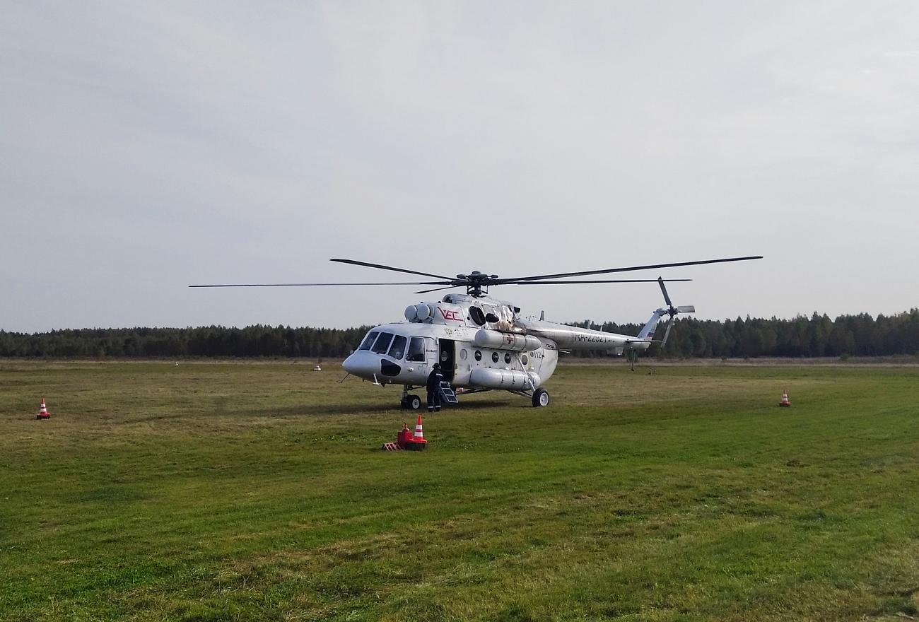 Мужчину в тяжелом состоянии доставили в Тверь вертолетом санитарной авиации