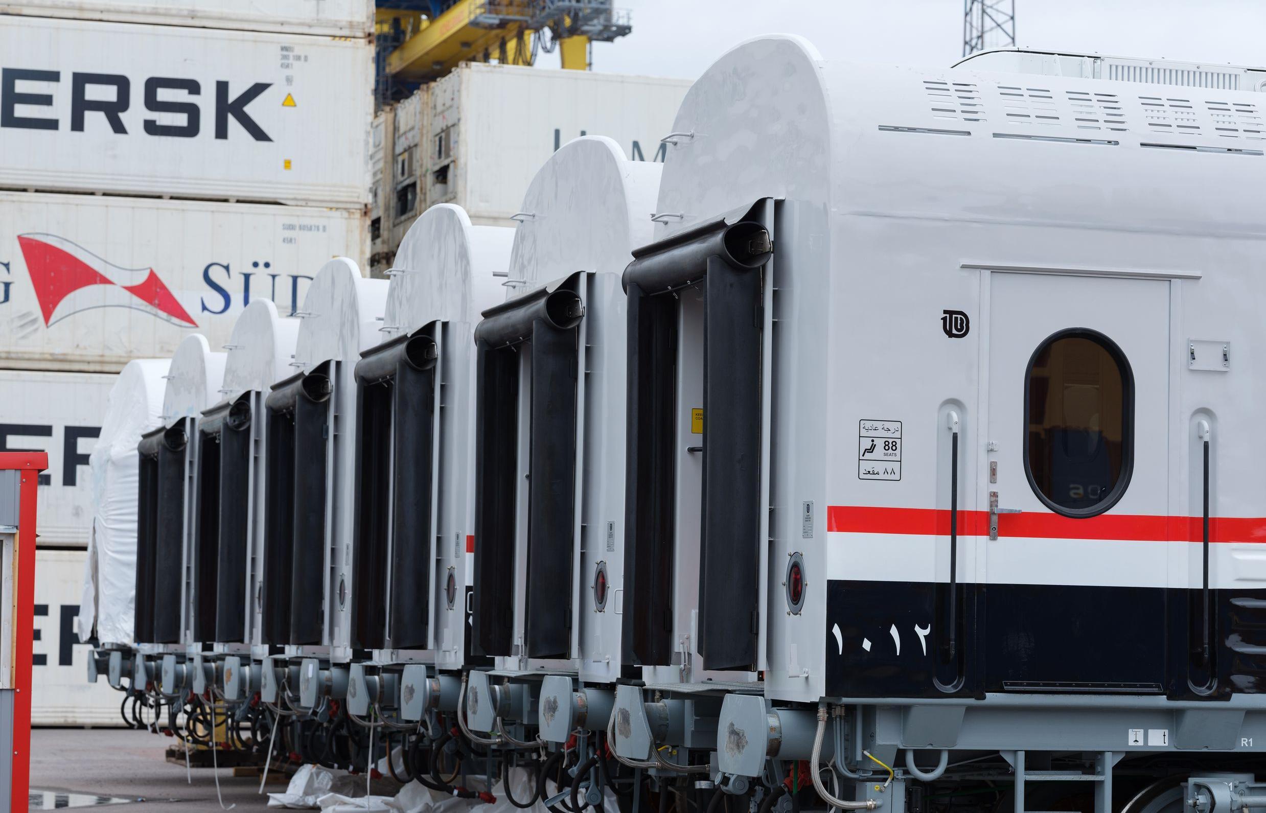 В Египет отправилась первая партия пассажирских вагонов из Твери - новости Афанасий