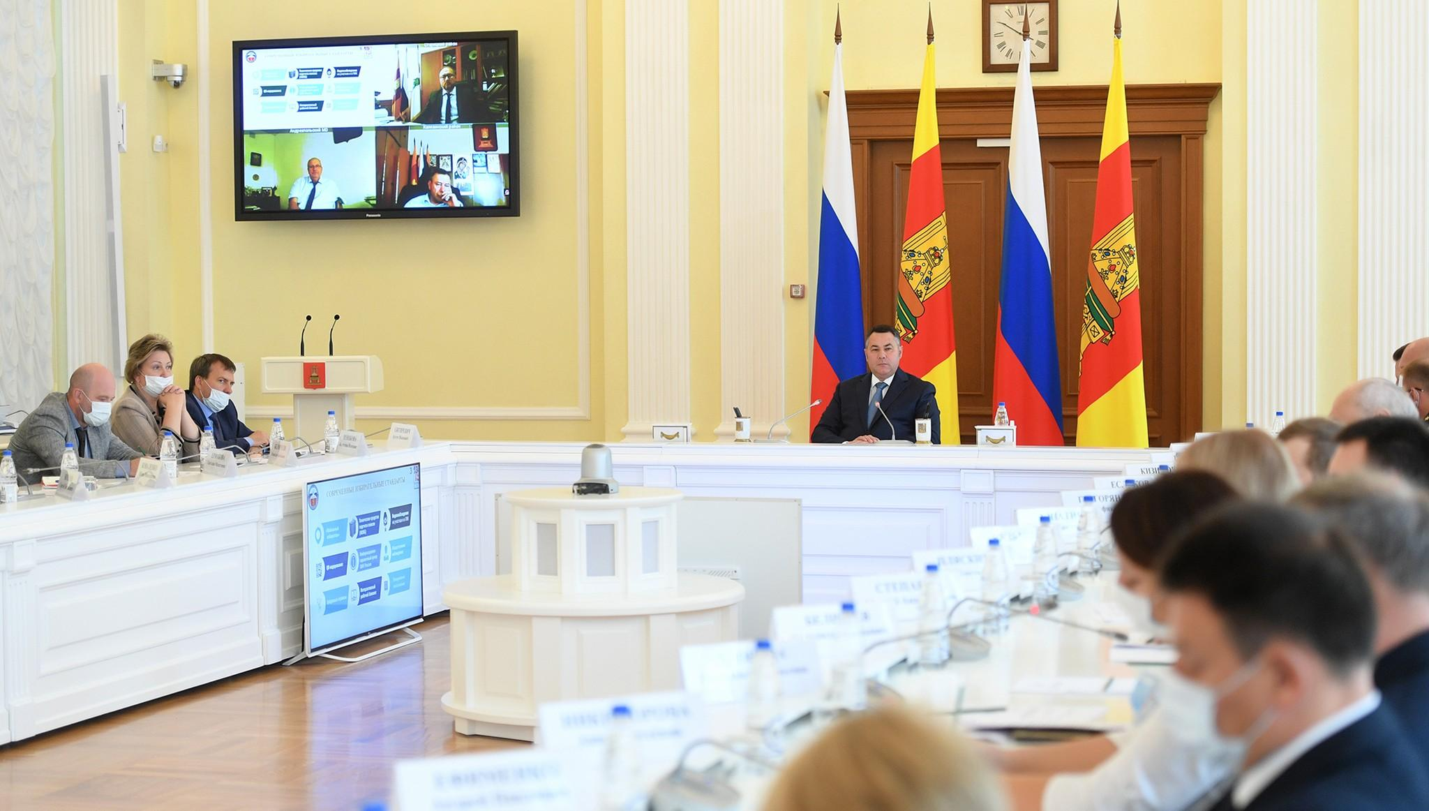 На выборах в Тверской области обеспечат соблюдение общественного порядка и санитарных норм