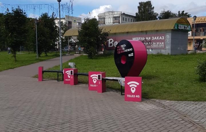 Новая площадка для отдыха появилась в Конаково