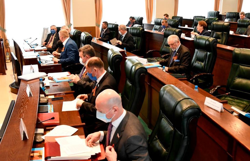 Областной парламент внес изменения в региональный бюджет - новости Афанасий
