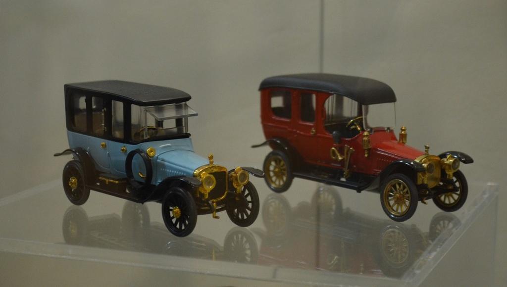 Выставка коллекционных моделей машин проходит в Тверской области - новости Афанасий