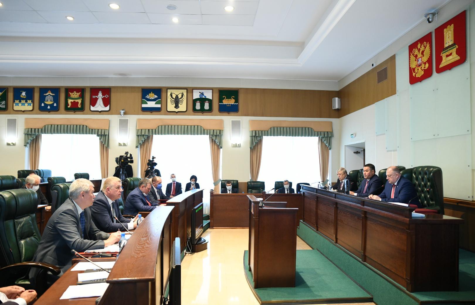 Игорь Руденя представил в Законодательном Собрании отчет об итогах работы правительства Тверской области в 2019 году - новости Афанасий