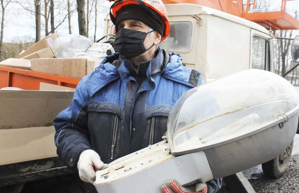 На Московском шоссе в Твери меняют освещение - новости Афанасий