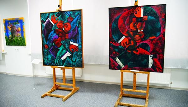 В Твери открылась выставка современного словацкого искусства / фоторепортаж