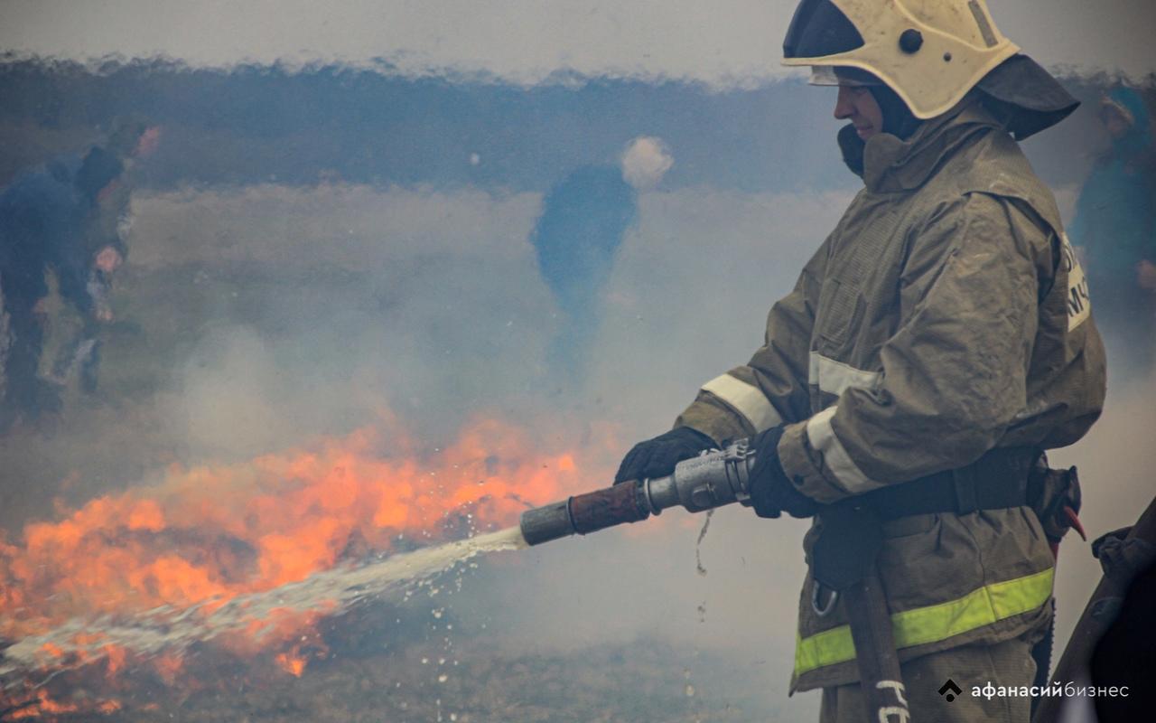 Из-за жары в Тверской области начались природные пожары