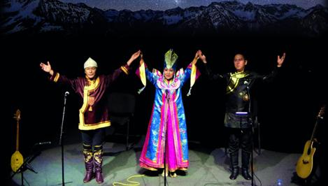 Впервые в Твери с программой «Легенды и мифы горного Алтая» выступит «Трио Алтая»