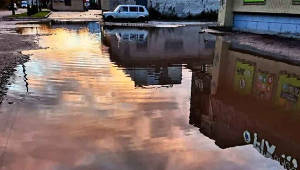 Лужа из Тверской области обзавелась инстаграмом  - новости Афанасий