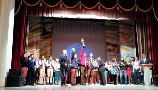 Тверские «Плюшки им. Ярослава Гашека» стали победителями фестиваля региональной лиги КВН «Верхневолжье»