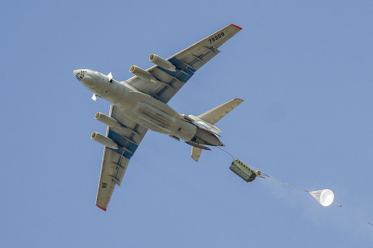Тверские экипажи Ил-76 приняли участие в масштабных военных учениях в Беларуси - новости Афанасий