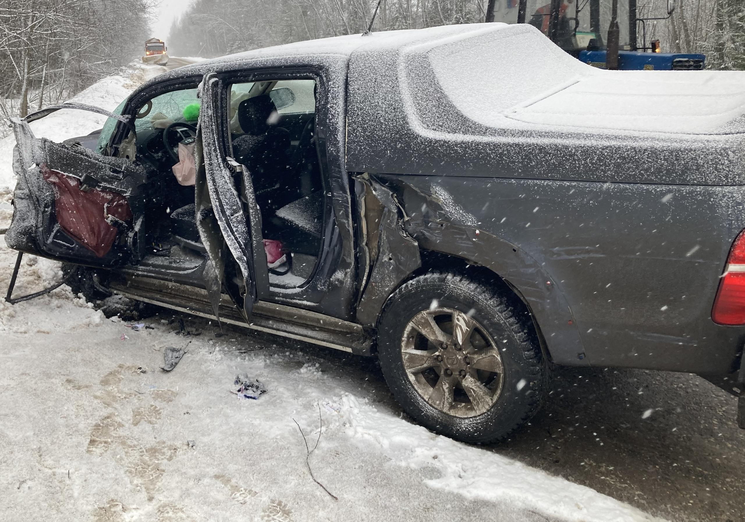 Женщина получила травмы в столкновении трех машин в Тверской области - новости Афанасий