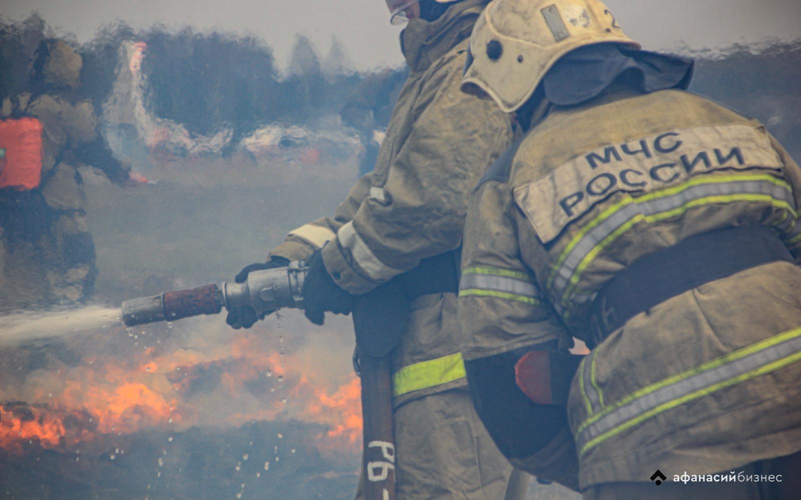 Масштабные учения: под Тверью пожарные спасли «деревню» и лес от бушующего пламени - новости Афанасий