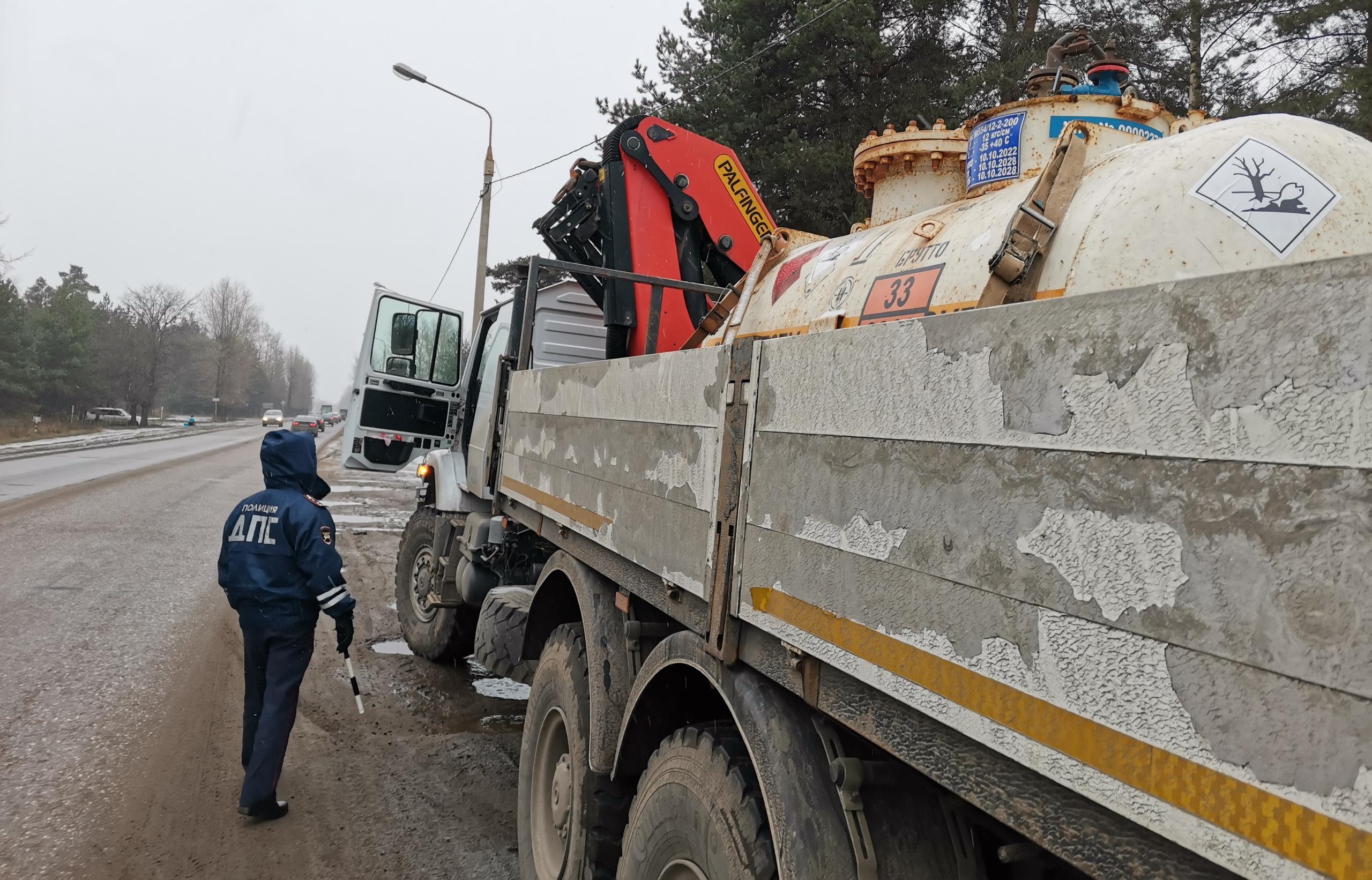 На дорогах Твери прошло мероприятие ГИБДД «Опасный груз» - новости Афанасий