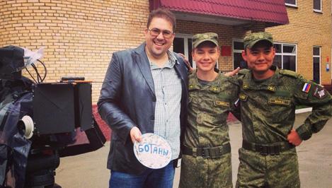 Павел Дроздов снимает новый сериал об армейской жизни