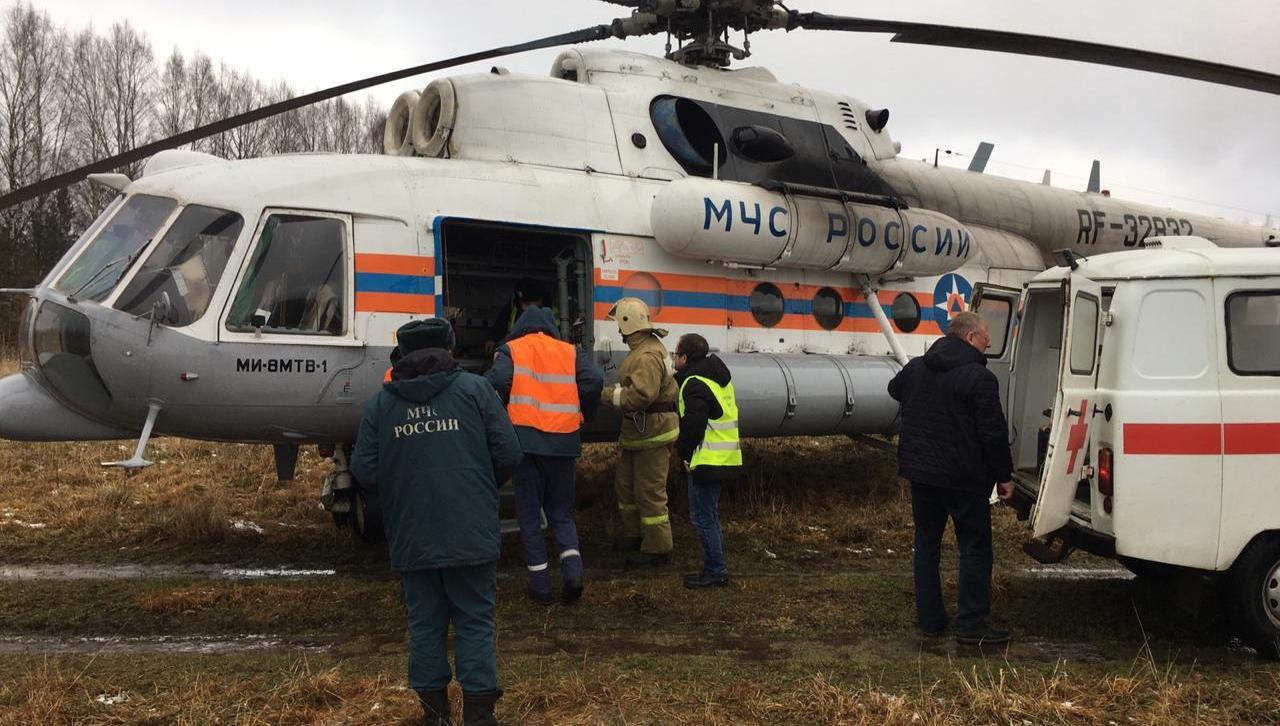 Врачи санавиации спасли жизнь «тяжелому» пациенту больницы Тверской области