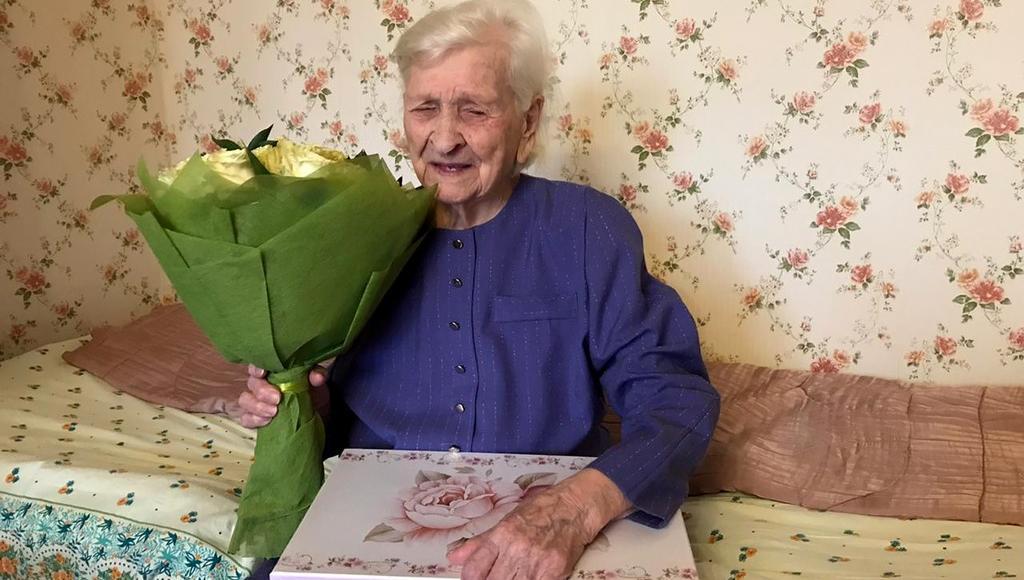 Жительнице Твери Екатерине Ларионовой исполнилось 100 лет - новости Афанасий