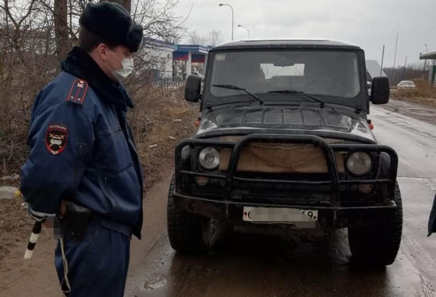 Масштабный рейд «Техрегламент» провели и на дорогах районов Тверской области