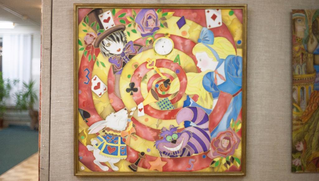 В Твери проходит выставка «Искусство Батика»
