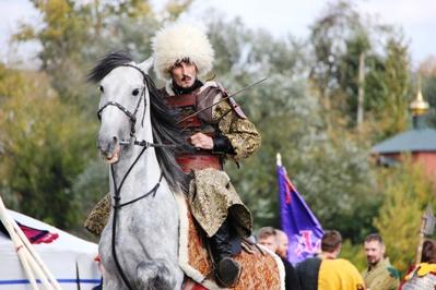На пристани Речного вокзала сошлись русские и ордынские войска: в Твери реконструировали Бортеневскую битву