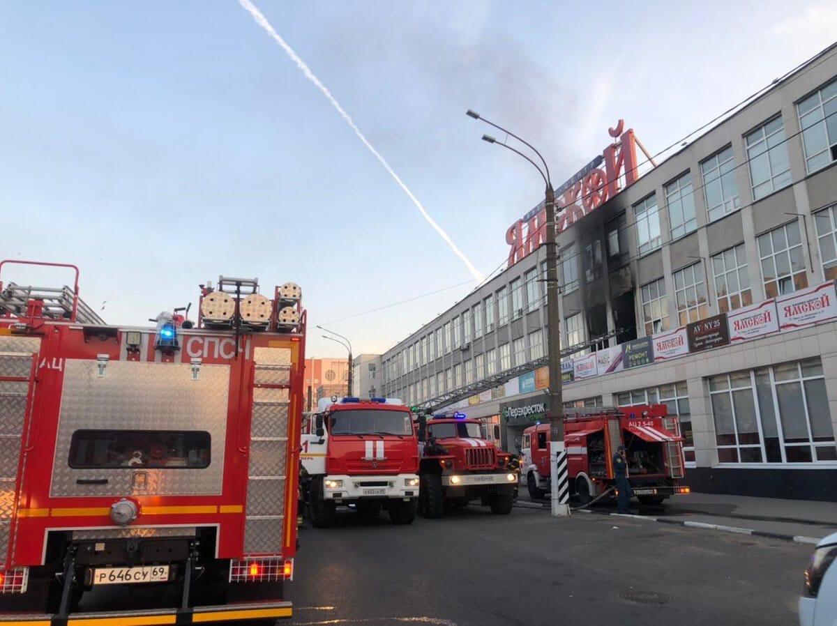 Вакцинальный пункт возобновит работу после пожара в БЦ «Ямской»