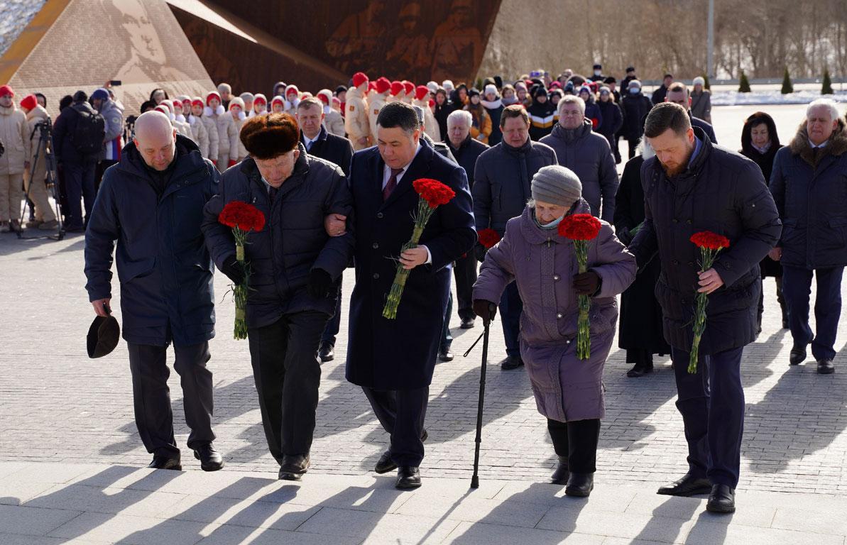 В Тверской области впервые День освобождения Ржева отметили у мемориала Советскому солдату  - новости Афанасий
