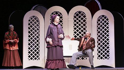 В Кимрском театре драмы и комедии состоялась премьера спектакля «Правда – хорошо, а счастье – лучше»