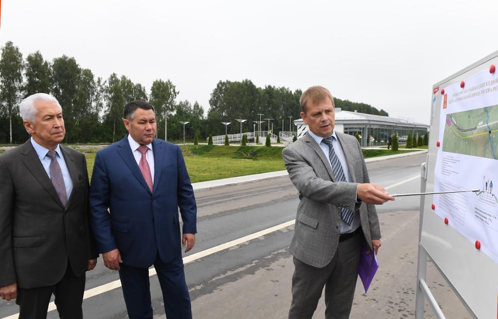 До конца 2021 года Ржевский мемориал Советскому солдату и железнодорожный вокзал «Ржевский мемориал» соединит пешеходная дорожка