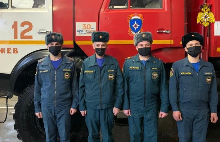 Пожарные спасли из огня жителя Ржева  - новости Афанасий