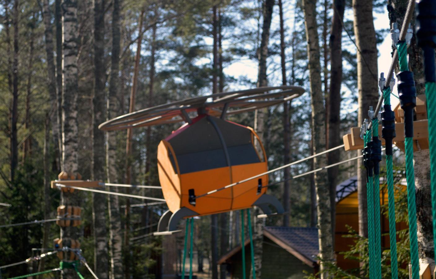 На территории аэропорта «Конаково» планируют создать веревочный парк - новости Афанасий