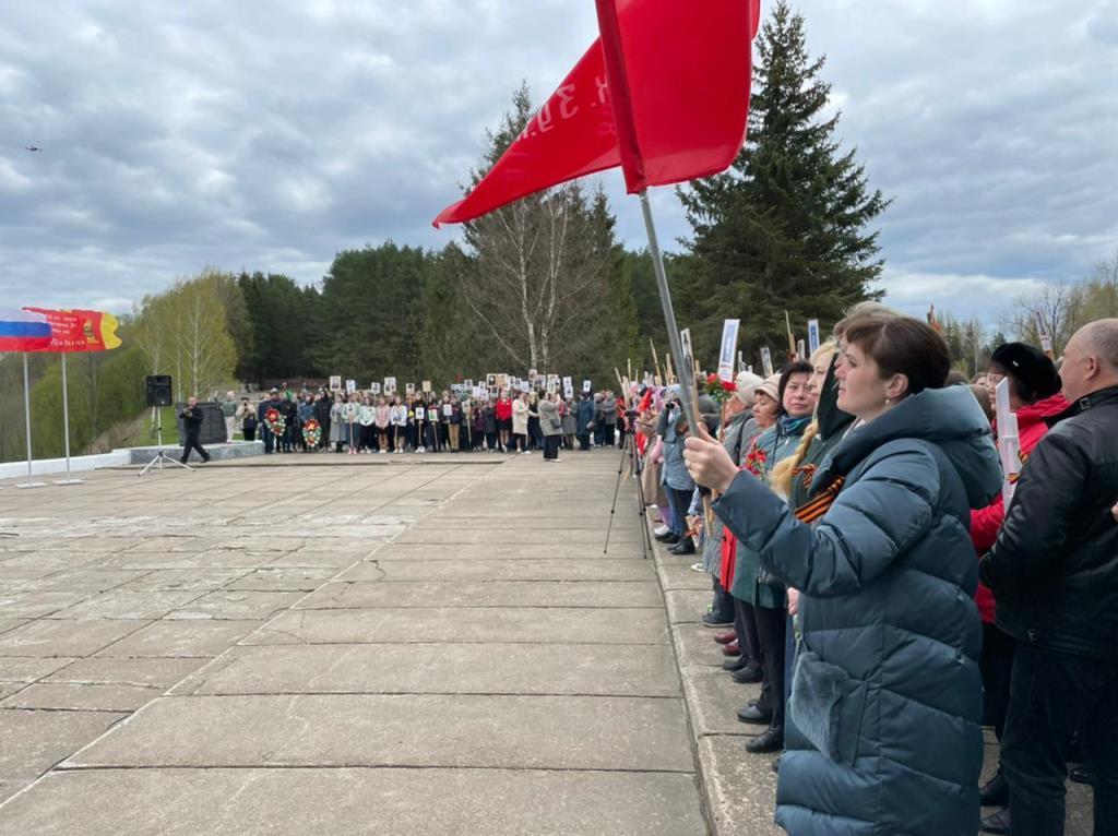 В городах воинской доблести Белом и Зубцове проходят праздничные мероприятия в честь Дня Победы