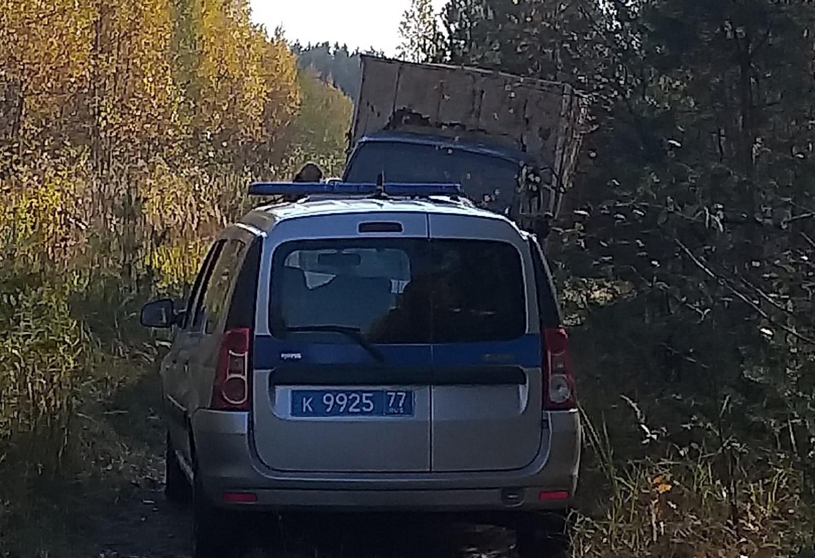 Под Тверью полицейские задержали ГАЗель, на которой пытались вывезти железнодорожные рельсы
