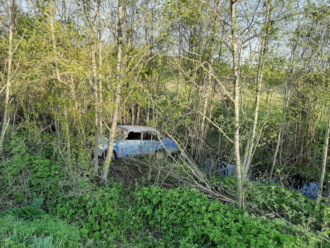 В Тверской области пьяный водитель без прав загнал «пятерку» в кювет - новости Афанасий