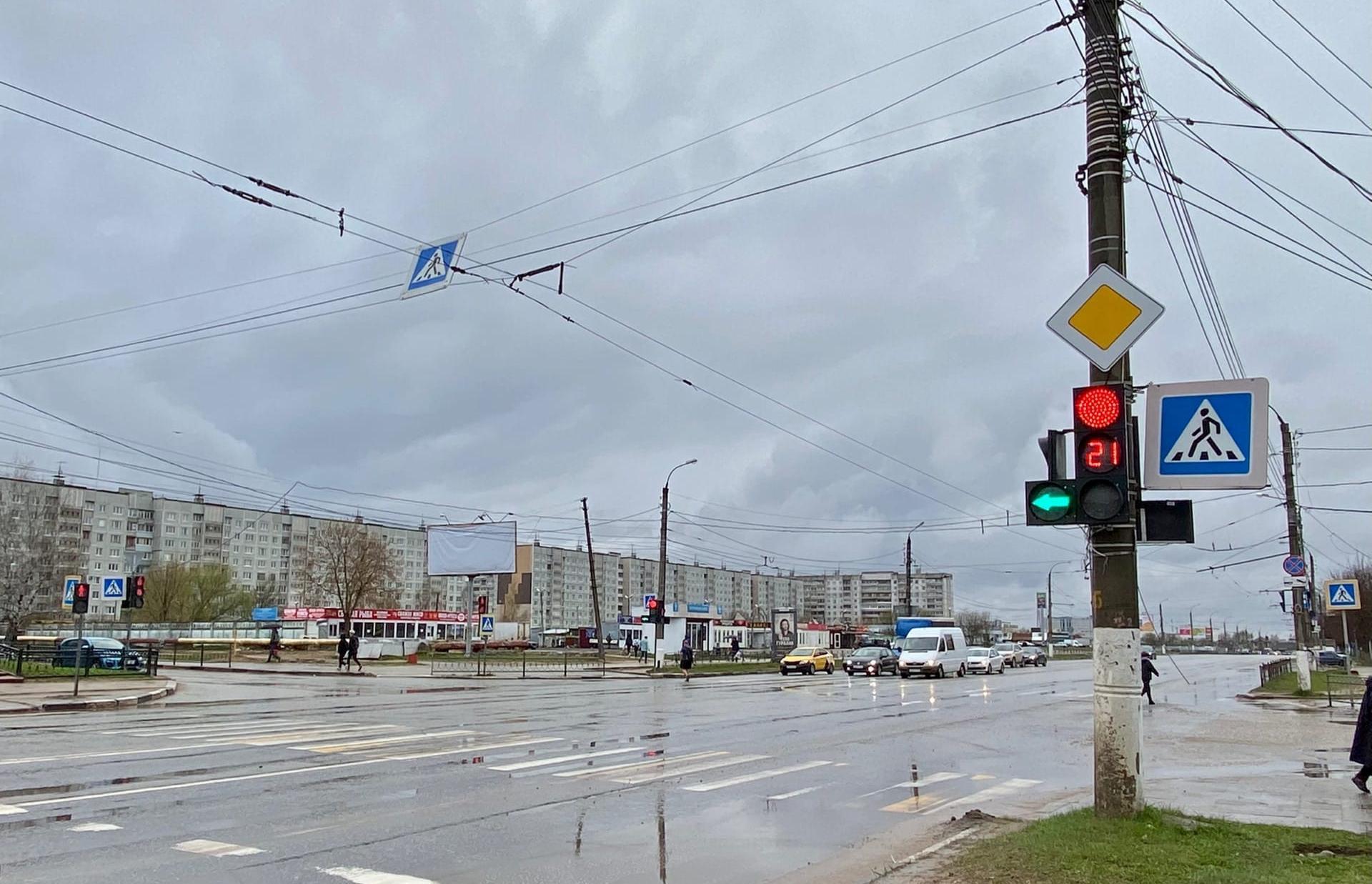 Светофор на улице Можайского в Южном оборудовали дополнительной секцией - новости Афанасий