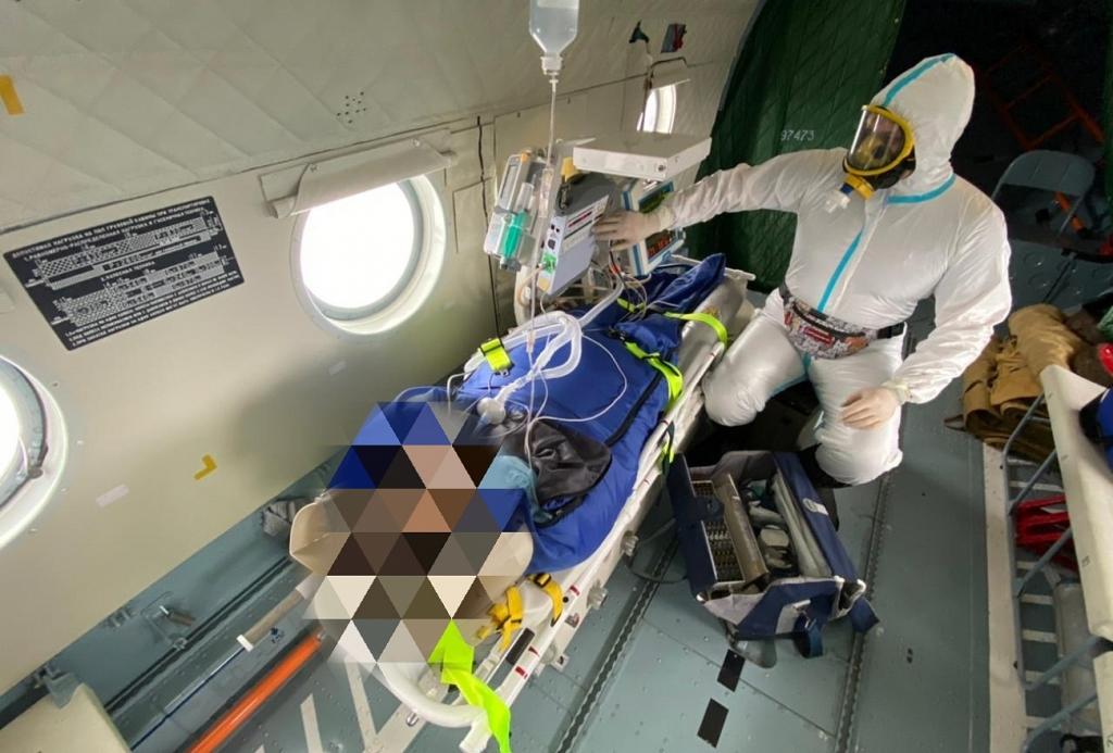 В Тверской области для больной ковидом в тяжелом состоянии понадобился вертолет