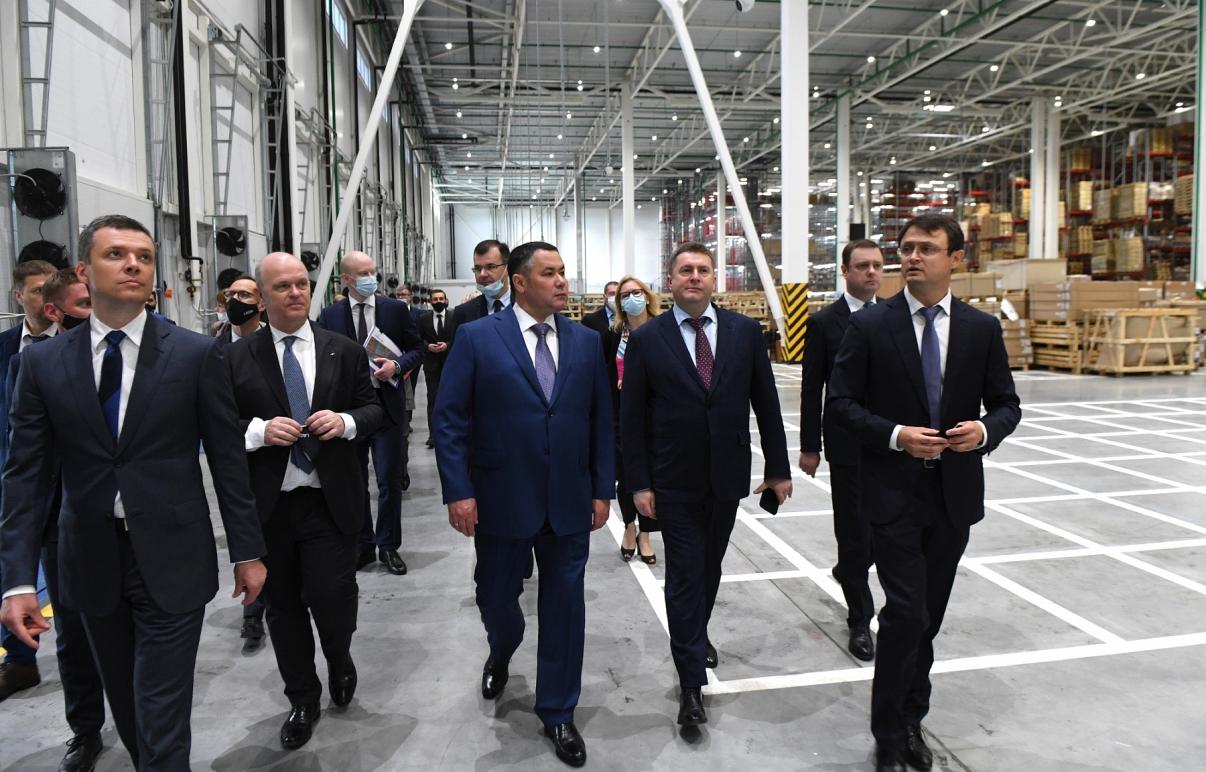 Игорь Руденя принял участие в торжественном открытии в Калининском районе крупнейшего регионального склада запчастей LADA - новости Афанасий