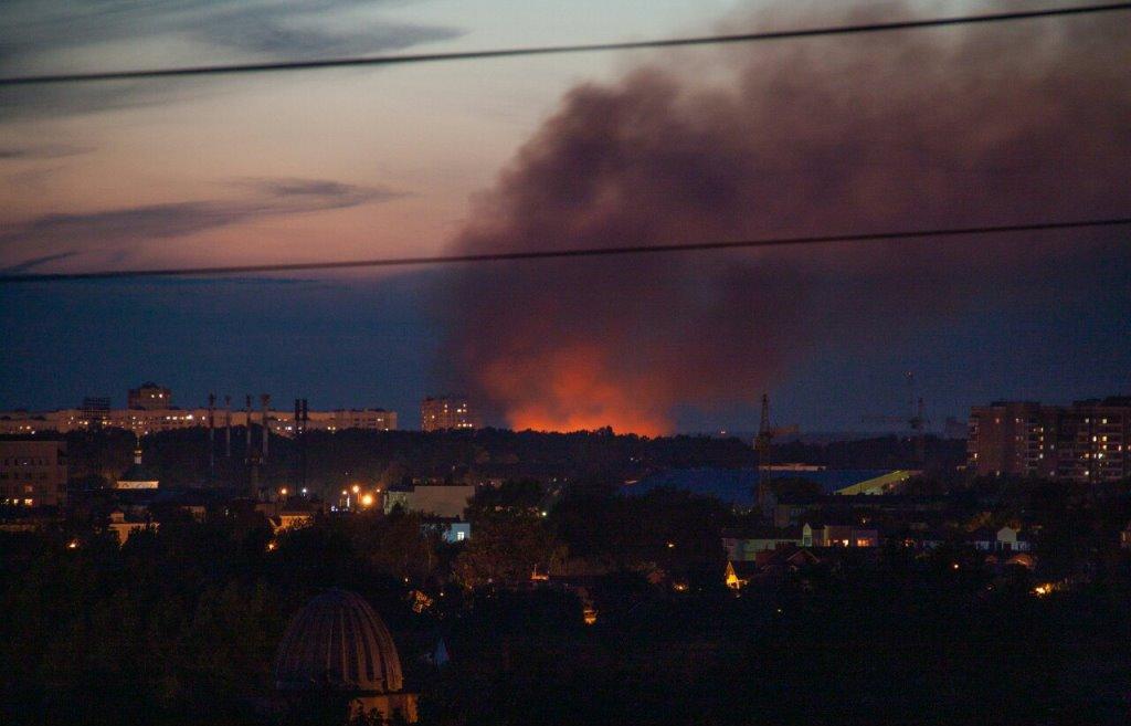 Минобороны РФ прокомментировало пожар на территории бывшей химбазы в Твери - новости Афанасий