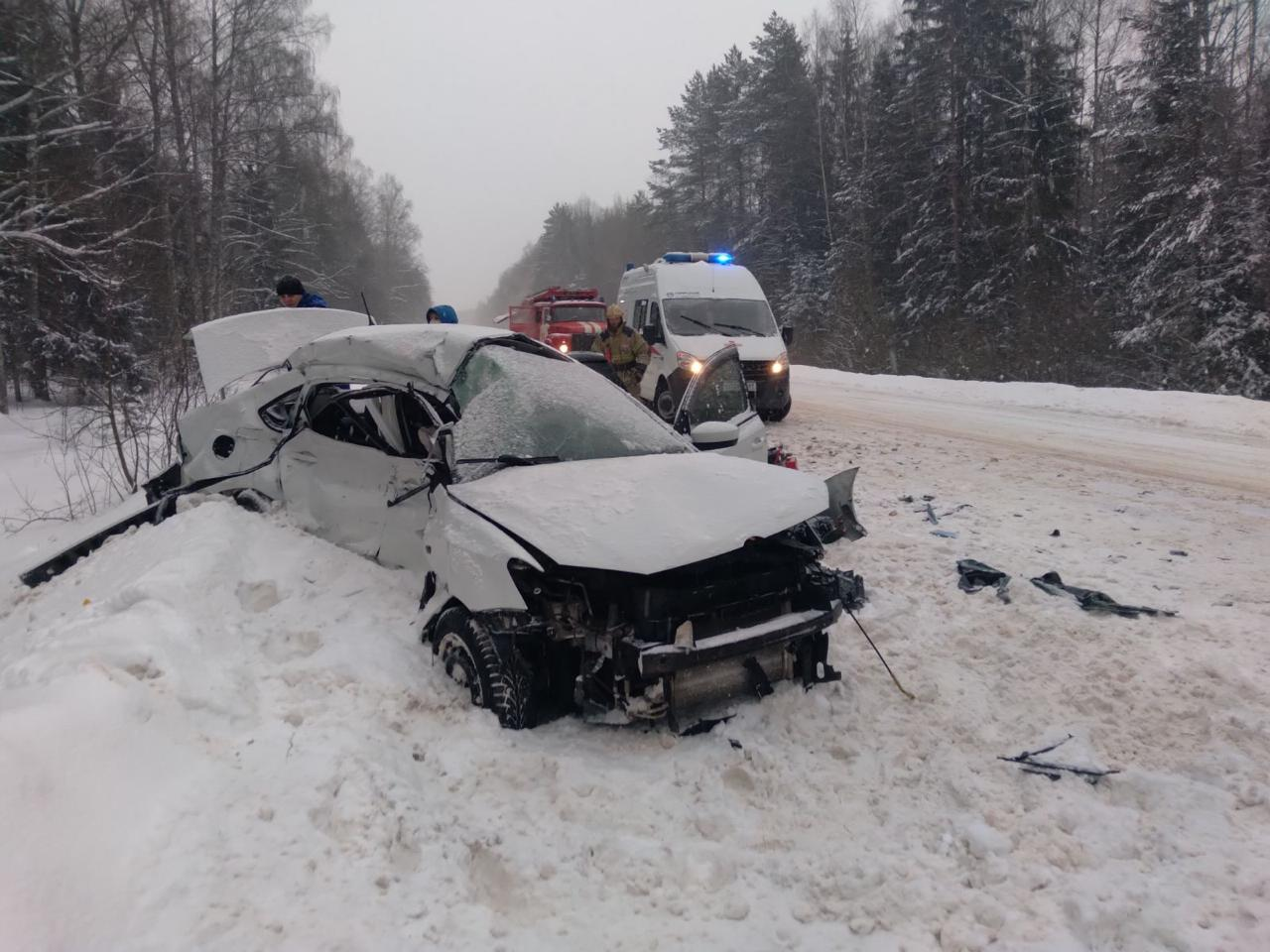 Страшное ДТП на трассе в Тверской области: трое погибли, один получил травмы - новости Афанасий