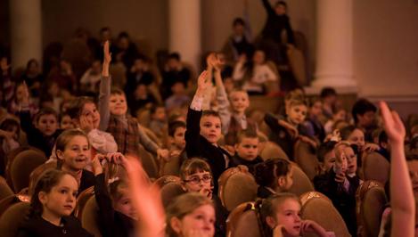 Тверская филармония приглашает детей в кинопутешествие