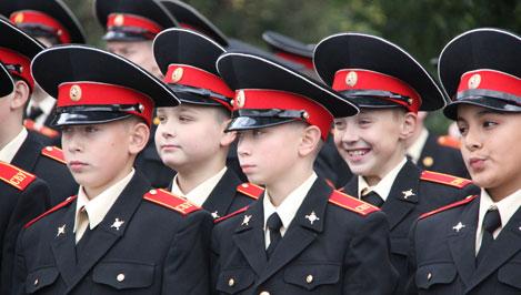 Тверское суворовское военное училище пополнили 96 первокурсников