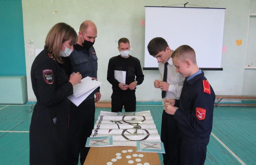Линейная полиция и ГИБДД провели урок для школьников Твери - новости Афанасий