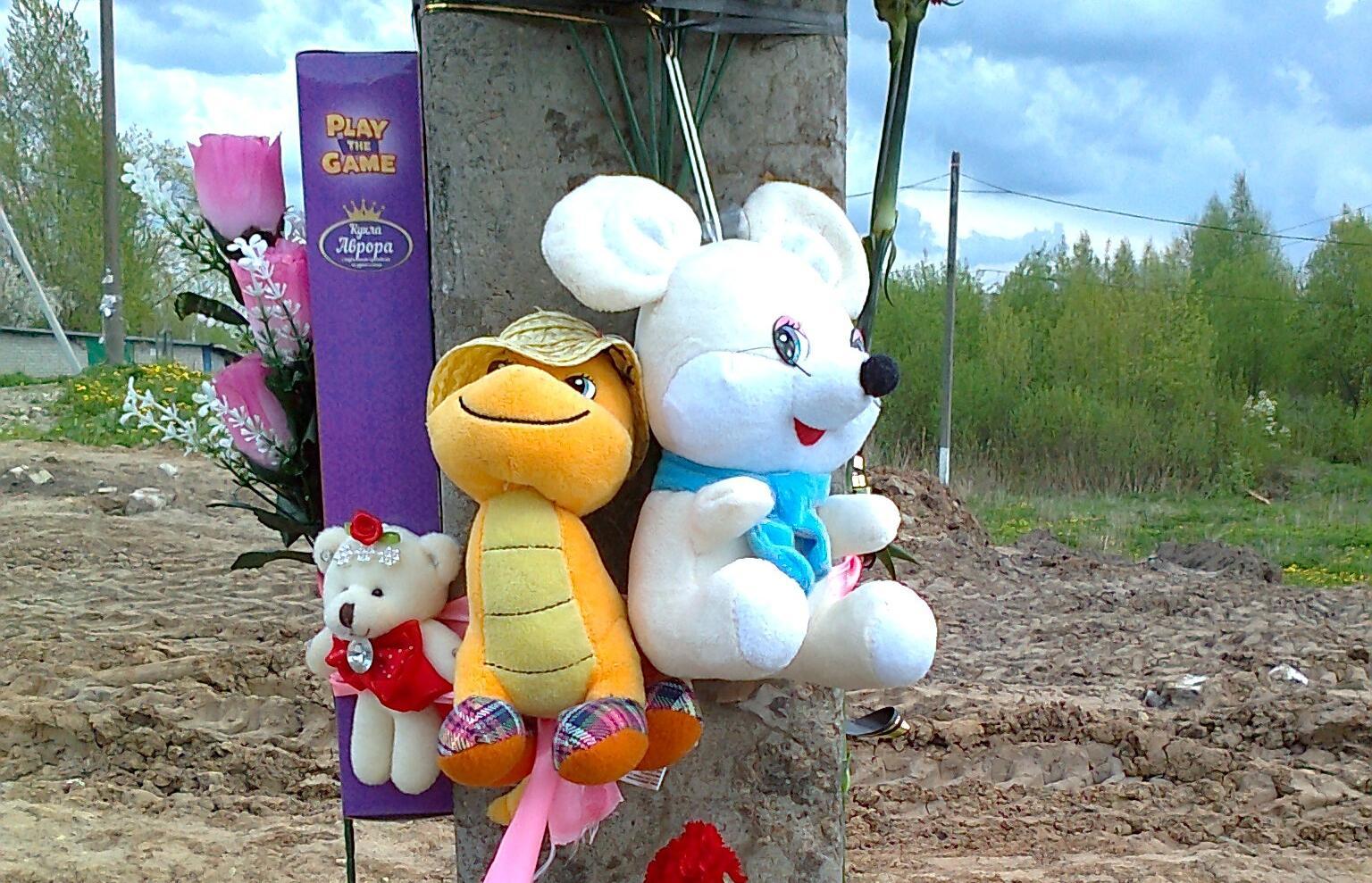 К месту гибели 4-летней жительницы Тверской области люди несут цветы и игрушки - новости Афанасий