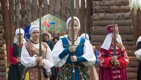 В Твери проходит фестиваль исторической реконструкции