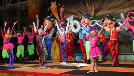 Юные циркачи из Конаково представят свои номера на закрытии Олимпиады в Сочи