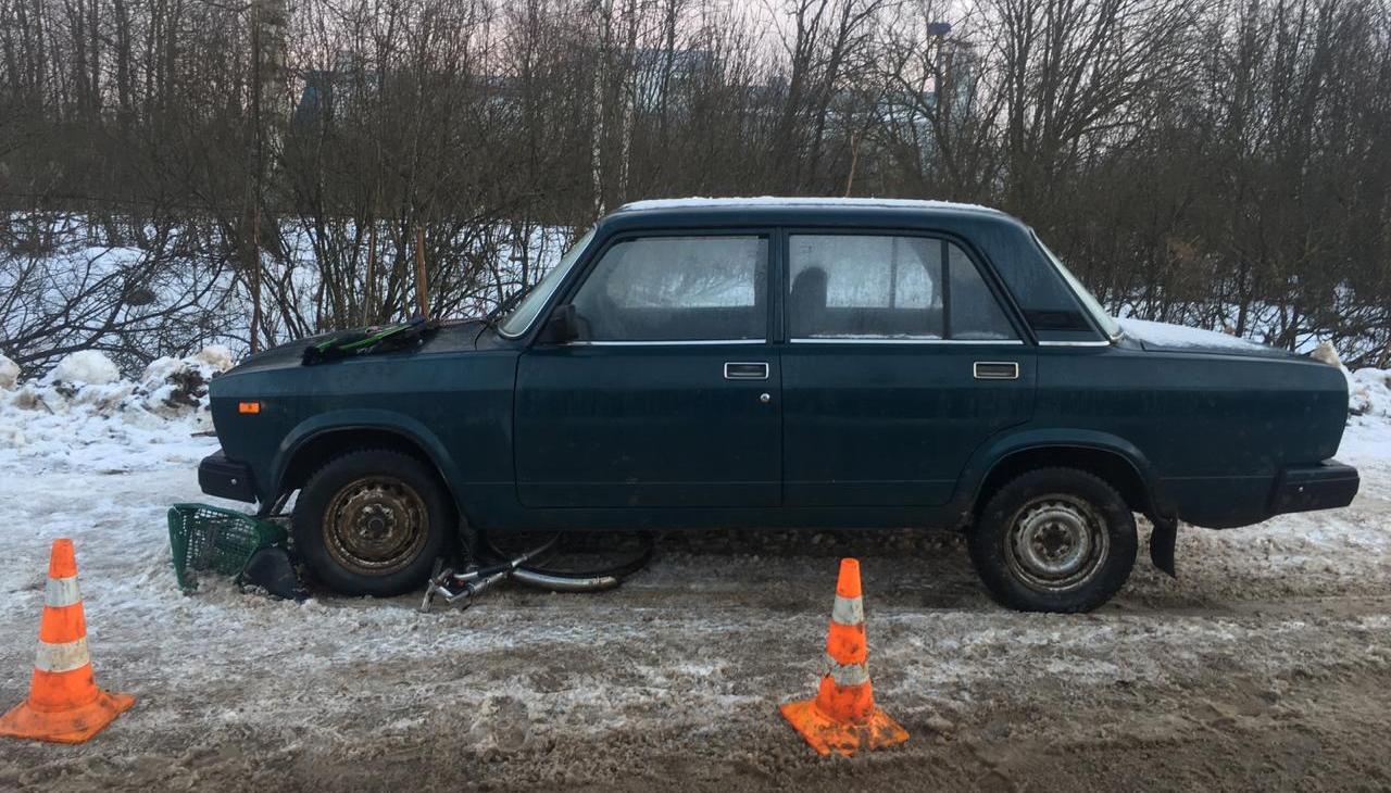 В Тверской области легковушка сбила велосипедиста