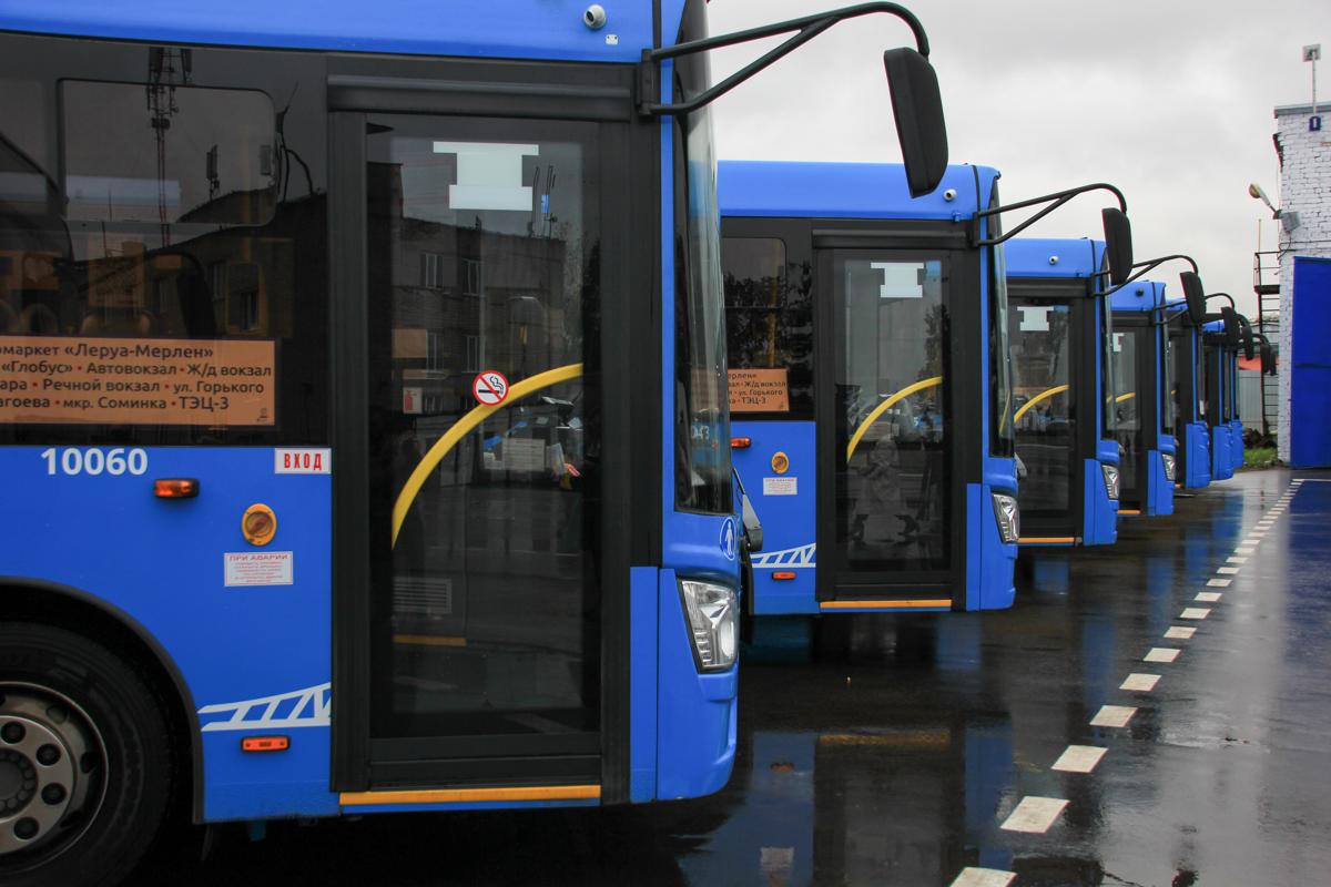 Помощнику Президента Игорю Левитину показали «Транспорт Верхневолжья»