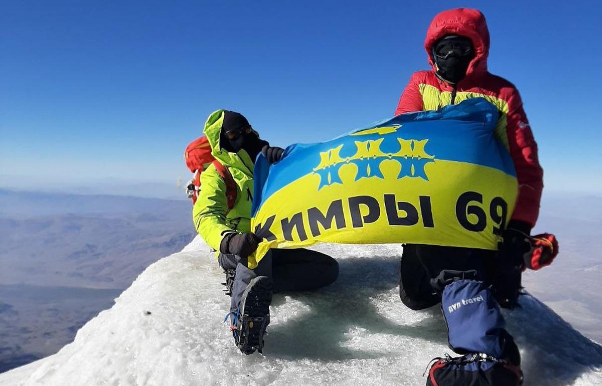 У экстремала из Тверской области с вершины Арарата улетел флаг Кимр - новости Афанасий