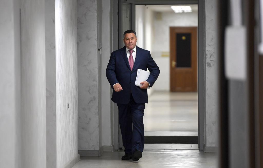 Игорь Руденя подал документы на выдвижение на второй срок на пост губернатора Тверской области - новости Афанасий