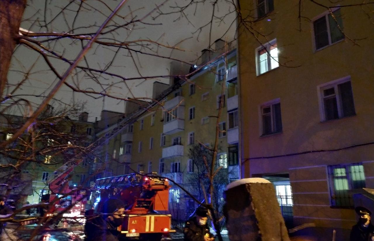 В Твери - серьезный пожар в Пролетарском районе - новости Афанасий