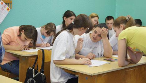 Добровольцы Твери совместно с ДСП «Важное дело» провели экологический классный час в коррекционной школе-интернате