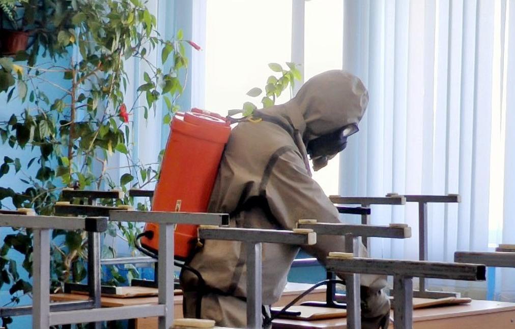 На каникулах в Твери дезинфицируют школы - новости Афанасий